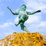 Statue de Jolly Fisherman, Skegness Photo stock
