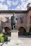 Statue de Julius Caesar en Cividale del Friuli images libres de droits