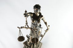 Statue de justice Photo libre de droits