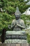 Statue de Kannon Bosatsu au temple bouddhiste de Senso-JI Photographie stock