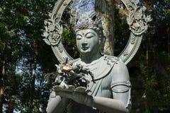 Statue de Kongokebosatsu dans le temple de Ninnaji photos stock