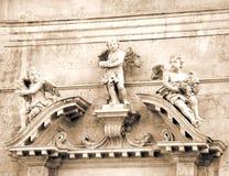 Statue de l'église d'ange de St Blaise Photographie stock libre de droits