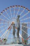 Statue de l'amour à Batumi, la Géorgie Photos stock