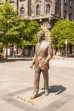 Statue de l'ancien Président Ronald Reagan des Etats-Unis sur Liberty Square i photo stock