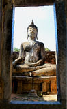 Statue de l'art 0f Bouddha en Thaïlande Images stock