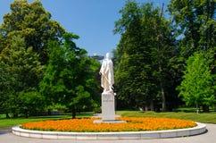 Statue de l'auteur Janko Kral images libres de droits