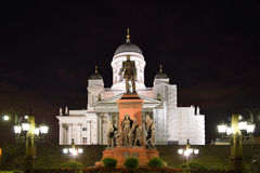 Statue de l'empereur russe Alexandre II photo libre de droits