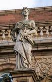 Statue de l'euterpe de muse, la Richmond-Sur-Tamise image libre de droits