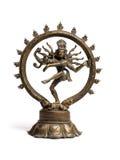Statue de la danse indoue indienne Shiva Nataraja d'un dieu Photos libres de droits