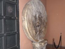 Statue de la La Dolce Vita à Rome Photos libres de droits
