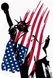 Statue de la liberté illustration stock