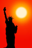 Statue de la liberté illustration de vecteur