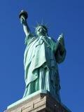 Statue de la liberté, complètement Photo libre de droits
