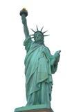 Statue de la liberté d'isolement, New York Photos stock