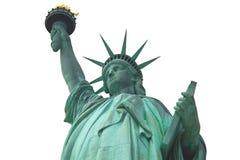 Statue de la liberté d'isolement, New York Images libres de droits