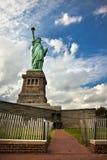 Statue de la liberté sur l'île de liberté à New York City Image stock