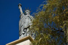 Statue de la Liberté à Paris.4 Stock Photography