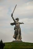 Statue de la mère patrie Photographie stock libre de droits