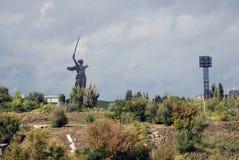 Statue de la mère patrie Photographie stock