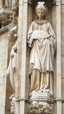 Statue de la prudence sur l'endroit grand Image stock