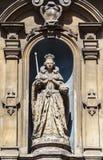 Statue de la Reine Elizabeth I à Londres photos stock