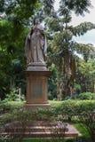 Statue de la Reine Victoria dans Bengaluru. photo stock