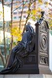 Statue de la Reine Victoria en Hong Kong photographie stock