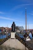 Statue de la Reine Wilhelmina Photo libre de droits