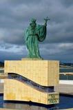 Statue de Lagos de sao Goncalo Images libres de droits