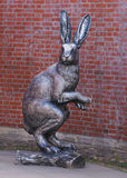 Statue de lapin dans Sankt Pétersbourg Photo stock