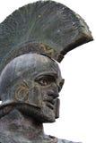 Statue de Leonidas de Sparta, Grèce image stock