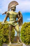 Statue de Leonidas, Sparte, Gr?ce photo stock