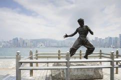 statue de lie de bruce image libre de droits