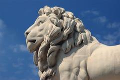 Statue de lion Images libres de droits
