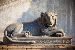 Statue de lion Photographie stock