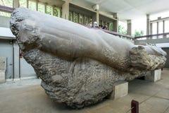 Statue de ll de Ramesses de pharaon images stock