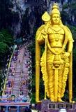 Statue de Lord Murugan, Kuala Lumpur Photo libre de droits