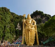 Statue de Lord Murugan, l'état le plus grand de Lord Murugan dans le monde photographie stock