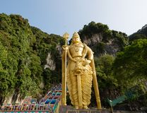 Statue de Lord Murugan, l'état le plus grand de Lord Murugan dans le monde images stock
