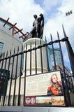 Statue de Lord Nelson, Birmingham Photographie stock