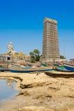 Statue de Lord Shiva dans Murudeshwar, Karnataka, Inde photos libres de droits