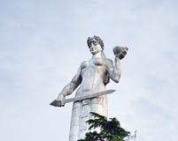Statue de mère la Géorgie, Tbilisi images stock