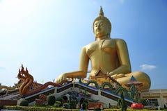 Statue de méditation de Bouddha Photos libres de droits