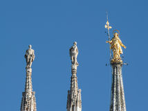 Statue de Madonnnina photo stock