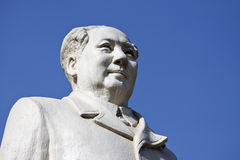 Statue de Mao Zedong Photos stock