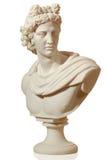 Statue de marbre de l'empereur Caesa Images libres de droits