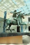 Statue de Marcus Aurelius, Rome Photo libre de droits