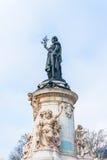 Statue de Marianne Photos libres de droits