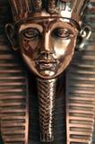Statue de masque de mort de Tutankhamun Image libre de droits