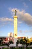 Statue de Medea Place de l'Europe images libres de droits